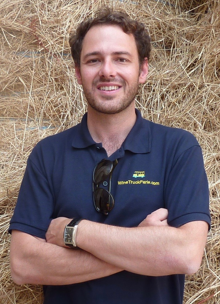 Luiz Batistello, Founder and Sommelier of Wine Tours Paris
